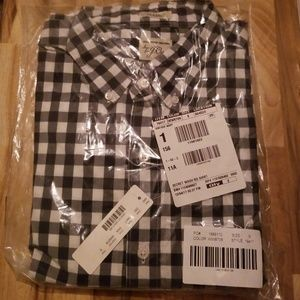 J Crew Mens Secret Wash Cotton Button Up